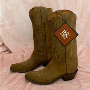 1883 by Lucchese Light Brown Cowboy Boot Size 7NWT